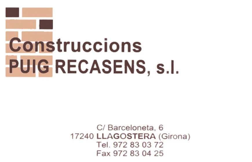 Construccions Puig Recasens