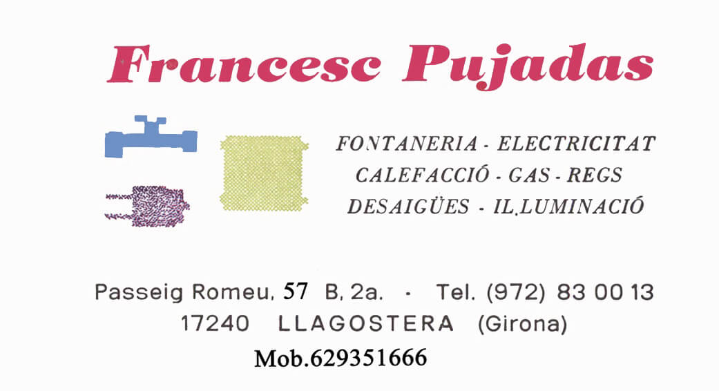 Lampisteria Francesc Pujadas