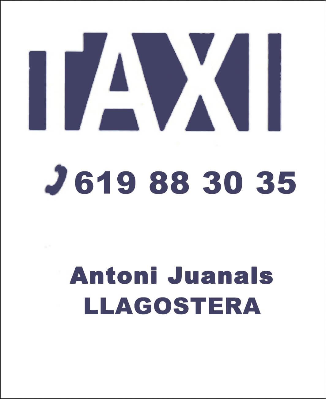 Taxi Antoni Juanals