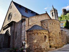 Església de Santa Maria, Ribes de Freser (Ripollès), terra de naixement d'en Janot Carbonell. Foto de Maria Rosa Ferré.